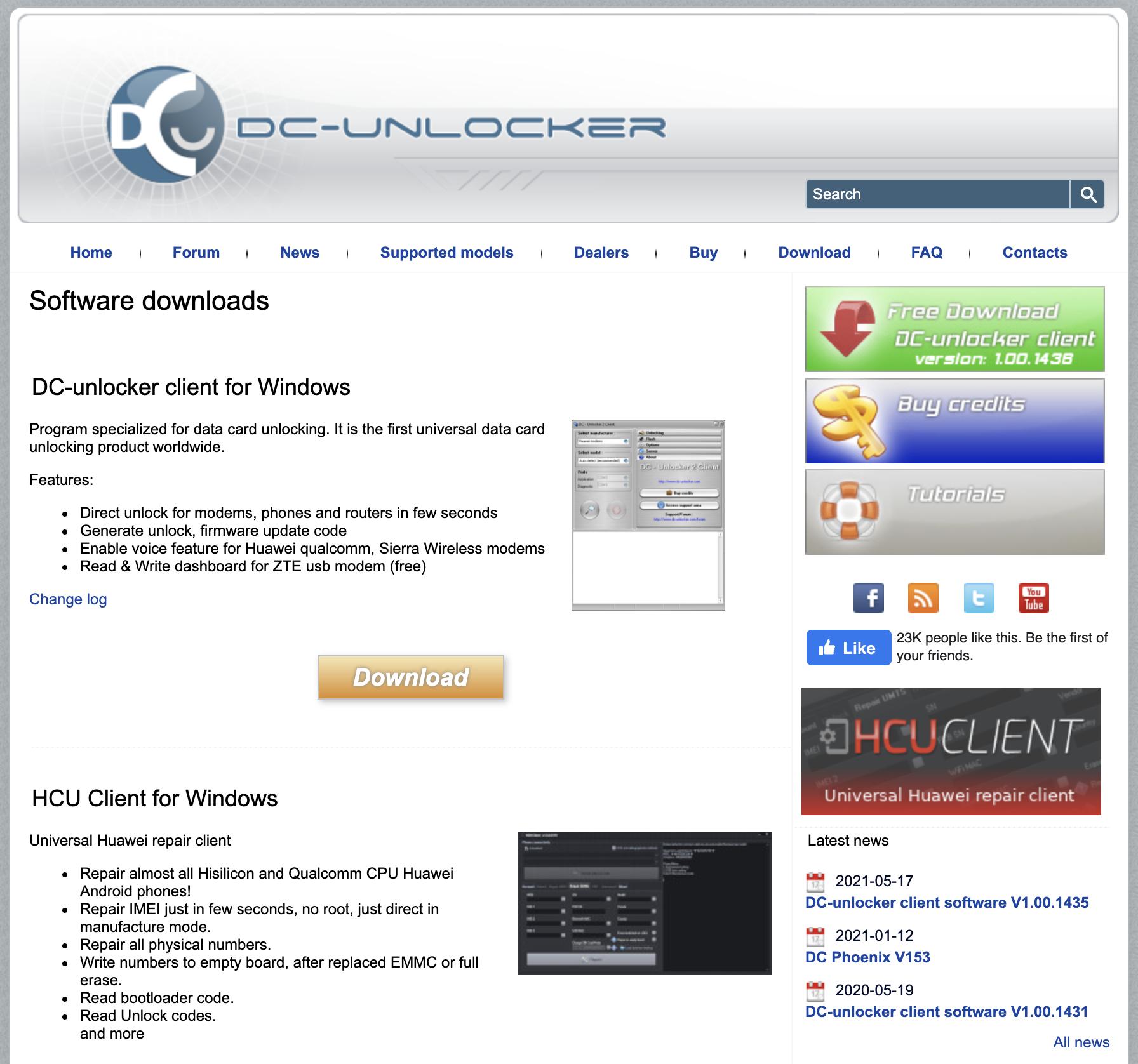 www.dc-unlocker.com - перепрошить модет мегафон